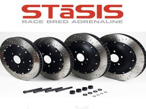 0000299 stasis brake rotors 390 mm front 355 mm rear for audi r8